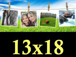 Ruční zpracování fotek 13x18