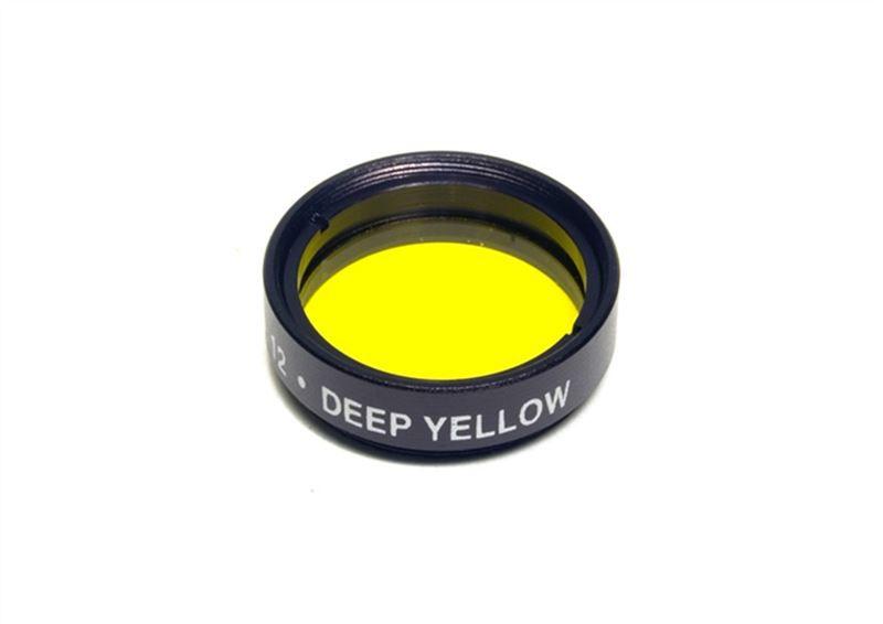 "Levenhuk color filter Yellow NO12, 1.25"""