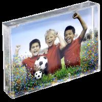 Sněžítko - fotbal s vlastní fotografií