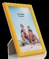 Fotorámeček Colori 13x18 2 žlutý FANDY
