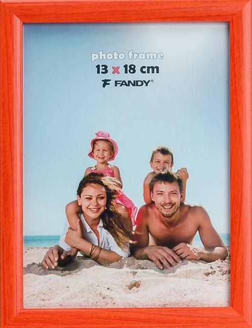 Fotorámeček Notte 10x15, oranžový FANDY