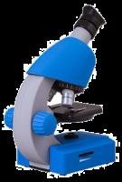 Bresser Junior 40x-640x Microscope, blue