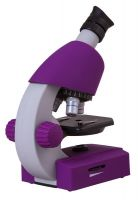 Bresser Junior 40x-640x Microscope, violet
