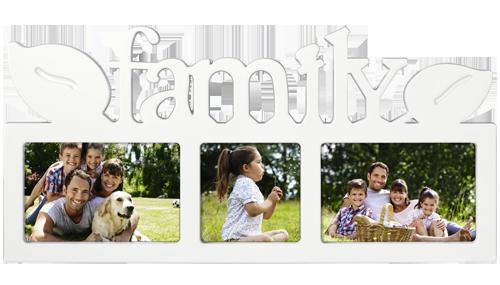 Fotorámeček Family - 3 fotografie