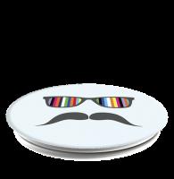 PopSocket Mustache Rainbow PopSockets