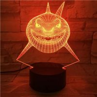 3D lampa Monster