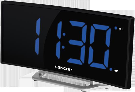 SDC 120 Hodiny s budíkem Sencor