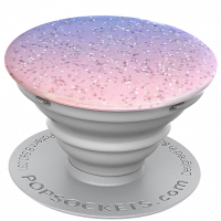 PopSockets Original PopGrip, Glitter Morning Haze