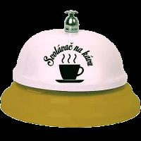 Vtipný zvonek Svolávač na kávu