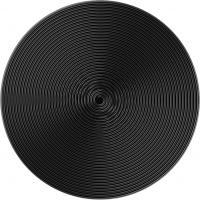 PopSockets Original PopGrip, Twist Black Aluminum, hliníkový