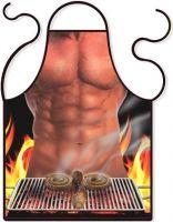 Vtipná Zástěra Sexy muž u grilu