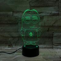 3D lampa Minions