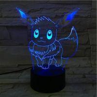 3D lampa Pikachu