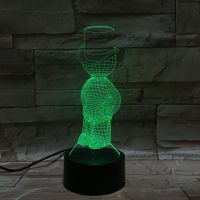 3D lampa Small Boy
