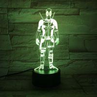 3D lampa Swordsman