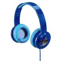 Dětská sluchátka hama Kids LED, modrá