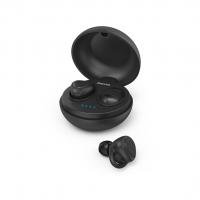 Hama Bluetooth špuntová sluchátka LiberoBuds, bezdrátová, nabíjecí pouzdro, černá