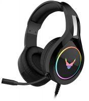 Omega VARR RGB herní sluchátka s mikrofonem černé VH6060