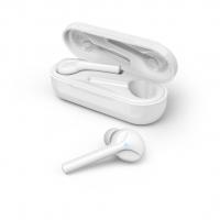 Hama Bluetooth špuntová sluchátka Style, bezdrátová, nabíjecí pouzdro, bílá