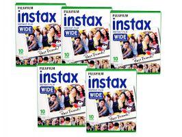Fujifilm Instax Wide glossy 5x10ks Pack