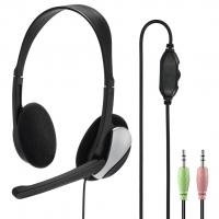 Hama PC Office stereo headset HS-P100, černý