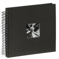 Hama album klasické spirálové FINE ART 28x24 cm, 50 stran, černé