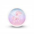Hama Magical Unicorn, dětský budík, jednorožec, tichý chod